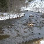 Tokkeåi vinter 2010 Gyteområde
