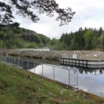 1 Den elektriske fiskesperra ved Kjeldal Sluse_foto Anders Mossing